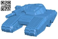 All tank B006178 download free stl files 3d model for 3d printer and CNC carving