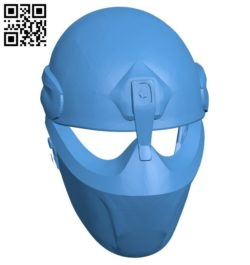 Alpha Force Mask B006186 download free stl files 3d model for 3d printer and CNC carving