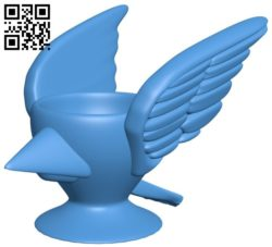 Angry Birds cup B006141 download free stl files 3d model for 3d printer and CNC carving