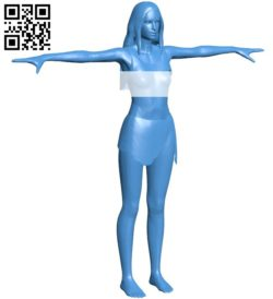 Aphrodite girl B005887 download free stl files 3d model for 3d printer and CNC carving