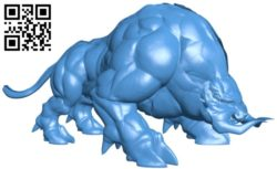 Beast ganon B005892 download free stl files 3d model for 3d printer and CNC carving
