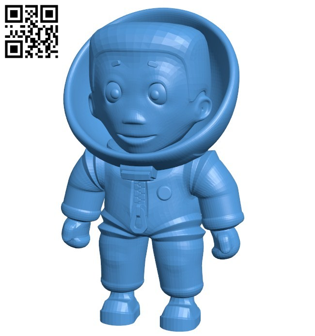 Boy astronaut B005790 download free stl files 3d model for 3d printer and CNC carving