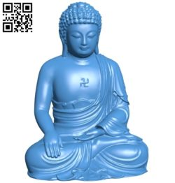 Buddha B006136 download free stl files 3d model for 3d printer and CNC carving
