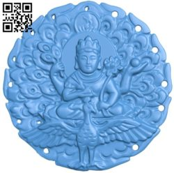 Buddha statue pattern A004249 download free stl files 3d model for CNC wood carving