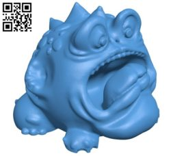 Burp Brog B005864 download free stl files 3d model for 3d printer and CNC carving