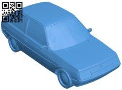 Car ZAZ 1102 B005953 download free stl files 3d model for 3d printer and CNC carving
