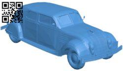 Car chrysler airflow B005867 download free stl files 3d model for 3d printer and CNC carving