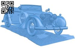 Car picture A004201 download free stl files 3d model for CNC wood carving