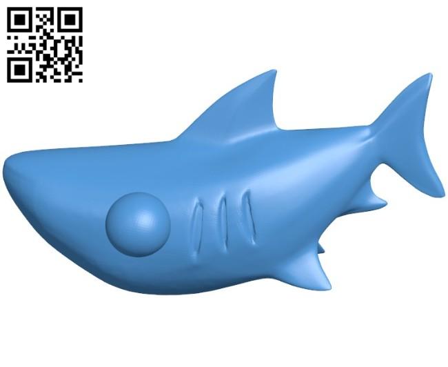 Cartoon fish B005794 download free stl files 3d model for 3d printer and CNC carving