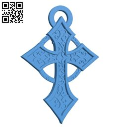 Celtic cross B006219 download free stl files 3d model for 3d printer and CNC carving