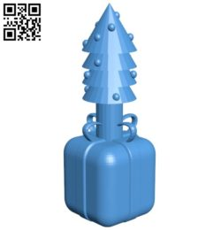 Christmas Chess Rook B005806 download free stl files 3d model for 3d printer and CNC carving