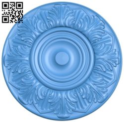 Circular disk pattern A004373 download free stl files 3d model for CNC wood carving