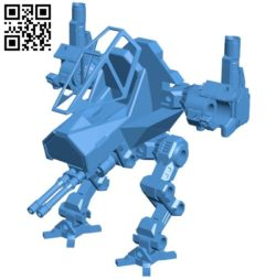 Combat robot B005815 download free stl files 3d model for 3d printer and CNC carving