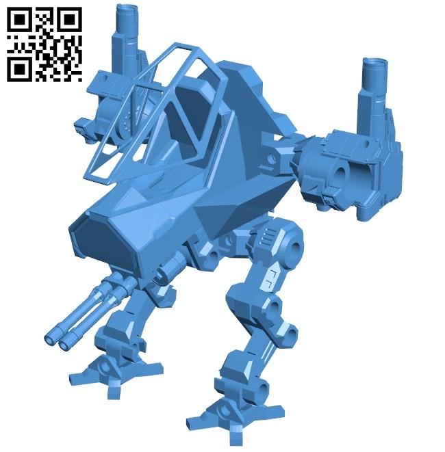 Combat robot B005815 download free stl files 3d model for 3d printer and CNC carving