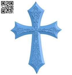 Cross B006196 download free stl files 3d model for 3d printer and CNC carving