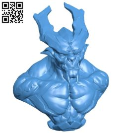 Dark Devil B005814 download free stl files 3d model for 3d printer and CNC carving