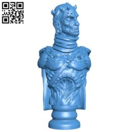 Demon Lord B005893 download free stl files 3d model for 3d printer and CNC carving