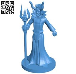 Devil dracula B006006 download free stl files 3d model for 3d printer and CNC carving