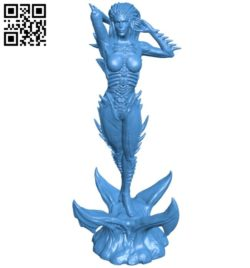 Devil kerrygan B006024 download free stl files 3d model for 3d printer and CNC carving