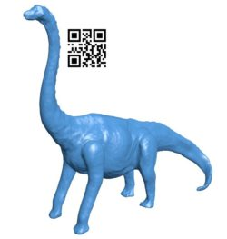 Dinosaurs eat grass brontosaurus B006145 download free stl files 3d model for 3d printer and CNC carving