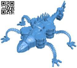Divine Beast Vah Rudania B006088 download free stl files 3d model for 3d printer and CNC carving