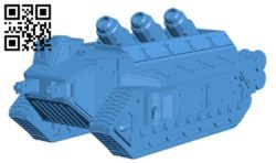 Dominus tank B006204 download free stl files 3d model for 3d printer and CNC carving