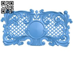 Door pattern design A004369 download free stl files 3d model for CNC wood carving