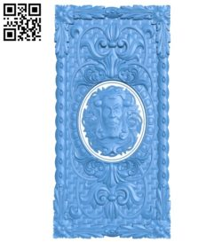 Door pattern design A004370 download free stl files 3d model for CNC wood carving