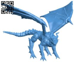 Dragon B005905 download free stl files 3d model for 3d printer and CNC carving