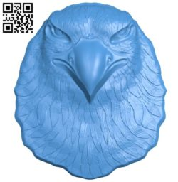 Eagle bird head A004278 download free stl files 3d model for CNC wood carving