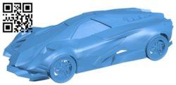 Egoista car B006225 download free stl files 3d model for 3d printer and CNC carving