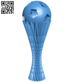 Fifa cup B005996 download free stl files 3d model for 3d printer and CNC carving