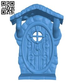 Fairy door B006206 download free stl files 3d model for 3d printer and CNC carving