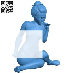 Female assassin B005825 download free stl files 3d model for 3d printer and CNC carving