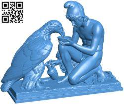 Ganymede and jupiter B005870 download free stl files 3d model for 3d printer and CNC carving