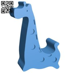 Giraffe mobile phone rack B006282 download free stl files 3d model for 3d printer and CNC carving