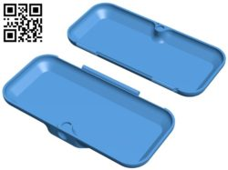 Glasses case small – Inner linings B005999 download free stl files 3d model for 3d printer and CNC carving