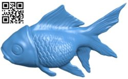 Gold fish B006257 download free stl files 3d model for 3d printer and CNC carving