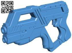 Gun M-6 carnifex B005977 download free stl files 3d model for 3d printer and CNC carving