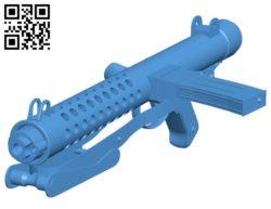 Gun sterling B006087 download free stl files 3d model for 3d printer and CNC carving