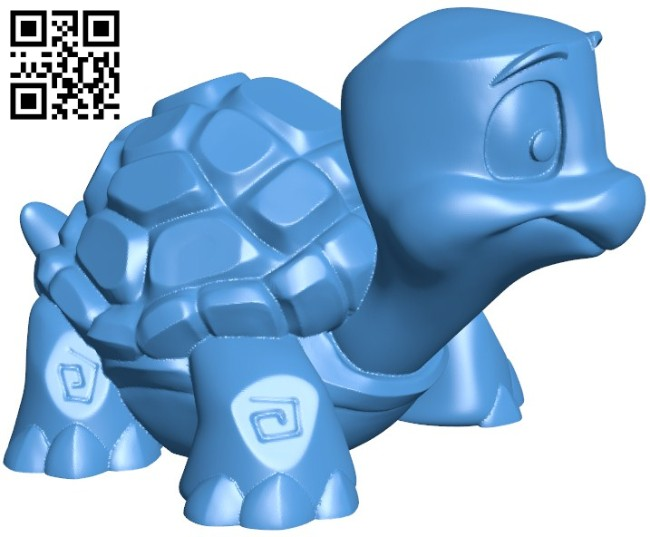 Gustav the turtle B005844 download free stl files 3d model for 3d printer and CNC carving