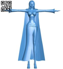 Gypsy Woman B005909 download free stl files 3d model for 3d printer and CNC carving