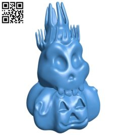 Halloween chess – King B006125 download free stl files 3d model for 3d printer and CNC carving