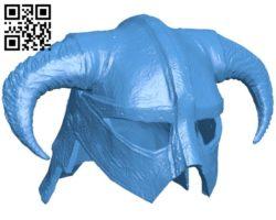 Helmet B005989 download free stl files 3d model for 3d printer and CNC carving