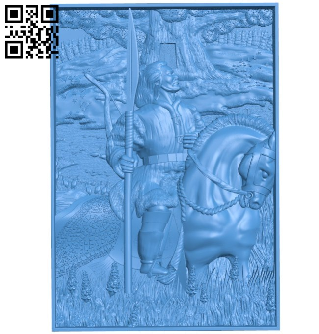 Hero Warrior A004267 download free stl files 3d model for CNC wood carving