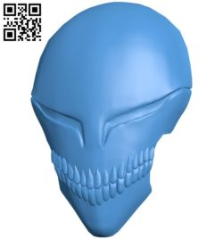 Hollow mask B006292 download free stl files 3d model for 3d printer and CNC carving