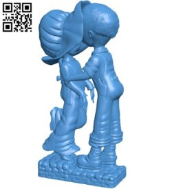 JG Behind the wood shed B006285 download free stl files 3d model for 3d printer and CNC carving