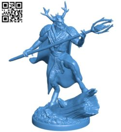 King of the forest B006058 download free stl files 3d model for 3d printer and CNC carving
