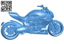 Large displacement motorcycle B006037 download free stl files 3d model for 3d printer and CNC carving