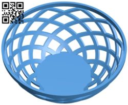 Large fruit bowl B005972 download free stl files 3d model for 3d printer and CNC carving